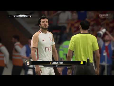 Liverpool Vs Galatasaray - FIFA 18 PS4