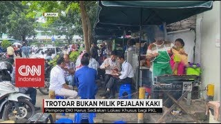 Ketika Trotoar Jakarta Bukan Lagi Milik Pejalan Kaki