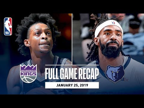 Video: Full Game Recap: Kings vs Grizzlies | Fox & Hield Combine For 48 Points