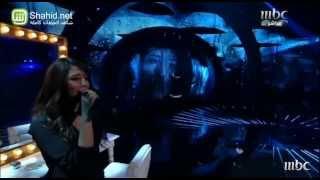 Arab Idol - الأداء - يسرا سعوف - أنا قلبي إلك ميال