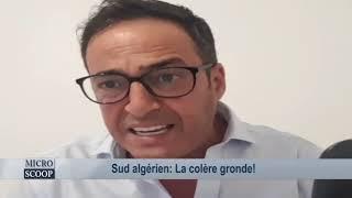Sud algérien: La colère gronde!