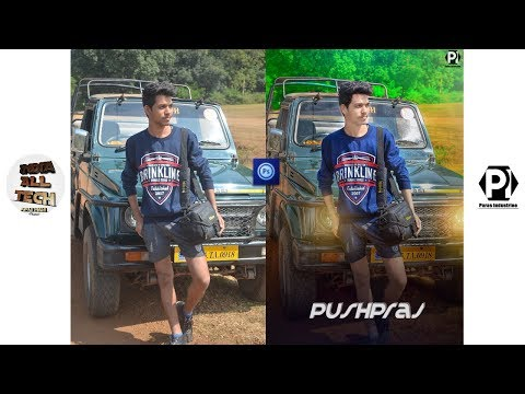 Best photo editing photoshop app for Android 2018 || by india all tech