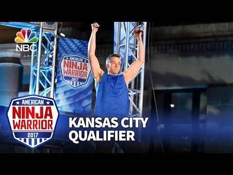 Kyle Schulze at the Kansas City Qualifiers - American Ninja Warrior 2017