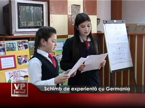 Schimb de experienţă cu Germania