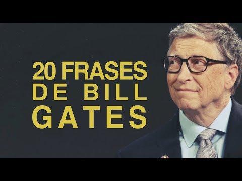 Frases bonitas - 20 Frases de Bill Gates  El informático millonario