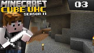 Minecraft: Cube UHC Season 11 - Episode 3 - Explored Cave