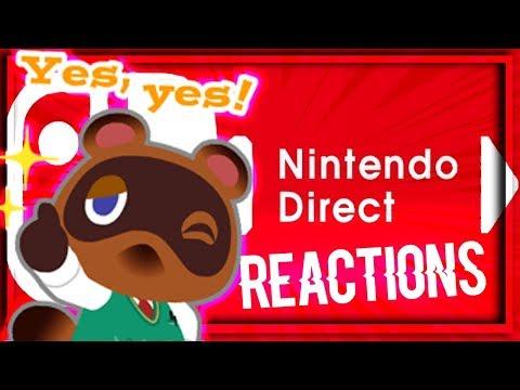 🔴▪️ANIMAL CROSSING SWITCH ANNONCÉ 2019 ; TROLL REACTION #AnimalCrossing #Nintendodirect  ▪️