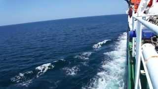 Día 187: En alta mar en el Caspio