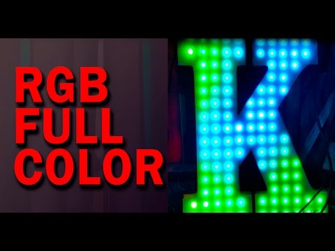 video RGB Full Color