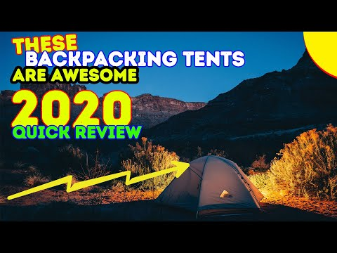 REVIEWS: 10 Best Backpacking Tents 2017 & 2018 !