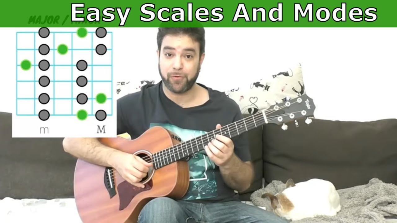 The Easiest Scales and Modes Lesson Ever (The INTUITIVE Method) – Guitar Tutorial