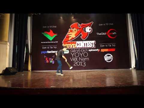 TheGioiYoyo Presents: VNYYC 2013 Trịnh Hùng Liêm – 1st 4A Final