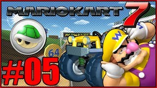 "Let's Play Mario Kart 7 2 player Local Coop Grand Prix for the Nintendo 3DS. Today in part 5, we take on Shell Cup 150cc with Wario and Rosalina. N64 Luigi Raceway, GBA Bowser Castle 1, Wii Mushroom Gorge, and DS Luigi's Mansion line up this cup.It's Mario time to shine. Get Hyped!!!►New to the Channel? Subscribe! :D http://bit.ly/1PCzTc0 ►Make sure to smash that LIKE button and let us know what content you would like to see! :]►Mario Kart 7 Playlist: https://www.youtube.com/playlist?list=PLFXI_6pKqaUbTVFgZHcKYAlp6EHK53Rv1________________________________________­_________►Hey there awesome viewer. We'd like to thank you so much for taking the time to check out our video/content. Don't forget to SMASH that like button if you enjoyed it and if not, feel free to drop us a comment down below and let us know what we can do. We are constantly improving and feedback would mean a whole lot. :] Thank you very much! ^-^►Don't forget to Subscribe and become part of the DarkLightAcadamia. We always welcome new brothers and sisters to the group and you'd be letting us know that we're creating something special. :D►Mario Kart 7 is the Nintendo 3DS entry to the popular Mario Kart Series. Introduced the Gliding and Underwater mechanics that have become mainstays since.Feel the HYPE and follow us on:►Twitter: https://twitter.com/DarkLight_Bros ◄►Facebook: https://www.facebook.com/DarkLightBros/◄►Deviantart: http://darklightbros.deviantart.com/◄Mario Kart 7 is owned By NintendoThis video is owned by the DARKLIGHTBROS, unless images/music specified in above description.Footage recorded for fair use and intended for educational purposes to showcase the game and its premise and to get newcomers into this game. :]Disclaimer:Under Section 107 of the Copyright Act 1976, allowance is made for ""fair use"" for purposes such as criticism, comment, news reporting, teaching, showcasing, scholarship, and research. Fair use is permitted.""Fair Use"" guidelines: www.copyright.gov/fls/fl102.htmlPlease Contact us through email first if there are any issues. :] ~DarkLightBros~#MarioKart7 #Nintendo3DS #Nintendo"
