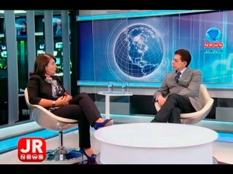 Jornal da Record News Com Maria Izabel Noronha