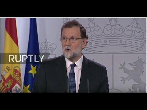 Video - Στην αντεπίθεση ο ηγέτης της Καταλονίας: Οι αποφάσεις Ραχόι είναι οι χειρότερες επιθέσεις από τη δικτατορία του Φράνκο