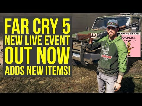 New Far Cry 5 Live Event ROADKILL Out Now - HOW TO COMPLETE IT (Far Cry 5 Live Events - Farcry 5)