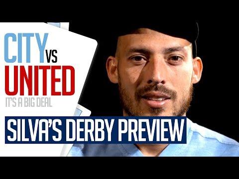 Video: MAN CITY v MAN UNITED | David Silva previews the Manchester Derby