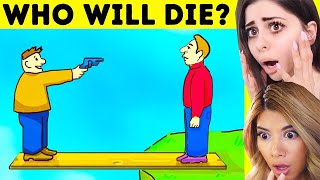 Video Messed up MYSTERY RIDDLES to Test Survival Skills w/ Gloom MP3, 3GP, MP4, WEBM, AVI, FLV Agustus 2019
