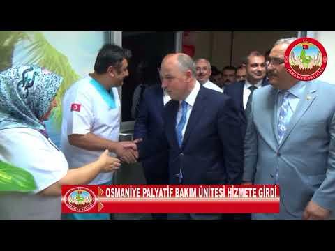 Osmaniye Palyatif Bakım Ünitesi Hizmete Girdi