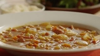 Get the top-rated recipe for Lentil Soup at http://allrecipes.com/Recipe/lentil-soup-2/detail.aspx Watch how to make a simple, ...