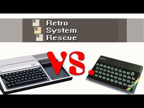 TI 99 / 4A vs. Sinclair ZX Spectrum - Round 2 - Fight!
