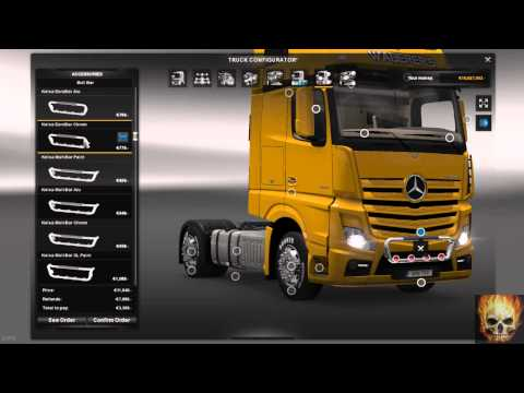 Mercedes Actros 2014 Tuning 1.18x