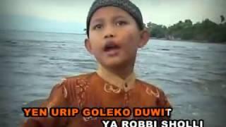 Sholawat Anak Anak SLUKU SLUKU BATOK--Voc.Mohammad Rizal Video