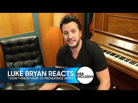 Luke Bryan Reacts to