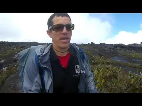 O tempo abre no Monte Roraima