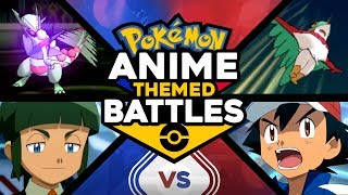 Ash vs Sawyer - Pokemon Anime Theme Battles #5! In this episode, John and I reenact the epic Kalos League battle between Ash and Sawyer!! Will Ash claim victory like he did in the Pokemon anime, or will the tables turn and Sawyer end up on top?I make Pokemon videos, such as Top 10 or Top 5 Pokemon videos, Pokemon Ultra Sun and Ultra Moon content, Pokemon Sun and Moon content, Pokemon anime Ash Ketchum videos, Pokemon Let's Plays of Pokemon games, and lots more! If you're hyped for Pokemon Sun and Moon, been a lifetime Pokemon fan, or even if you just picked up Pokemon Go, you should subscribe to me!Support me on Patreon! https://www.patreon.com/user?u=5428423Extra special thanks to my Patrons Ryan Hancy, Bryan Ingram, Jenrri Arias, and Joseph Milman!Check out the new MandJTV merch store! https://shop.bbtv.com/collections/mandjtv-pokevidsMy 2nd Channel Michael Groth!https://www.youtube.com/michaelgrothFollow me on Twitch! https://www.twitch.tv/mandjtvI use XSplit to record my webcam and game footage. Click on this link to get it yourself! https://www.xsplit.com/?ref=thegg2ohMusic by Rob-Ez!YouTube:https://www.youtube.com/channel/UCF3tMmW3NFsByFJ5znBtukwSoundcloud:http://www.soundcloud.com/rob-ezFacebook!http://www.facebook.com/mandjtvTwitter!https://twitter.com/MandJTVPokevids