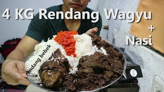 Video MUKBANG | 4 KG Rendang Wagyu + Nasi MP3, 3GP, MP4, WEBM, AVI, FLV Desember 2017