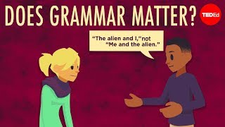Does grammar matter? – Andreea S. Calude
