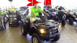 10. 2015 Kawasaki Brute Force 750 4x4 EPS Review