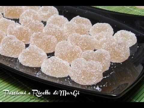 caramelle gommose - ricetta facile