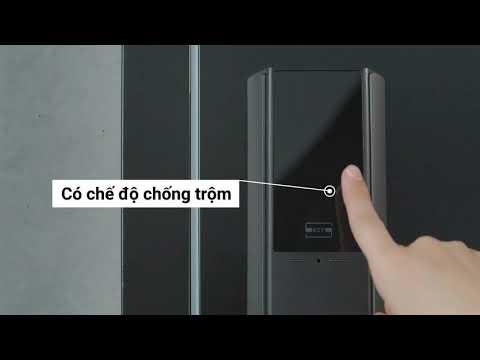 Khoá điện tử Samsung 537 - an toàn tuyệt đối