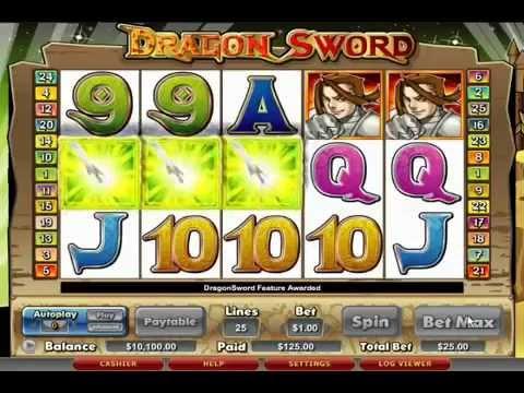Slot Dragon Sword by Cryptologic - Slotmachinefree.net