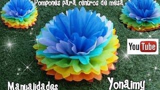 HOLA ESPERO QUE ESTE TUTORIAL LES DE UNA MEJOR IDEA PARA REALIZAR ESTE TIPO DE ADORNOS DE PAPEL DE CHINA QUE HACE LUCIR MUCHO LOS CENTROS DE MESA.PARA OBTENER LOS MOLDES DE LAS MANUALIDADES SOLO DALE CLICK A CUALQUIERA DE LOS DOS ENLACES.https://www.facebook.com/media/set/?set=a.1065429613547072.1073741829.1065342703555763&type=3 BLOG:  http://manualidadesyonaimy.blogspot.com/MIS REDES SOCIALES :TWITTER :  @YonaimyINSTAGRAM :   Yonaimy_GOOGLE +  https://plus.google.com/u/0/114102527559483623132/postsPINTEREST: Manualidades Yonaimy ENLACE AL GRUPO DE  FACEBOOK DE MANUALIDADES https://www.facebook.com/groups/925964407520507/EMAIL: yonaimy@yahoo.comLES HAGO UNA INVITACION A VISTAR MI OTRO CANAL EN DONDE LES MUESTRO COMO HACER  BONITAS FIGURAS CON GLOBOS, ASI COMO TODO LO RELACIONADO CON EL MAQUILLAJE ARTISTICO  PARA NIÑOS O PINTACARITAS.  SOLO DALE CLICK A ESTE ENLACE  http://www.youtube.com/user/YonaimyMUSICA :http://incompetech.com/music/royalty-free/index.html?genre=Pop sunshine (version 2) Kevin Mcleod Royalty free.