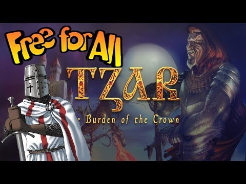 Tzar The Burden Of The Crown 8 Player Free For All On Medium Map