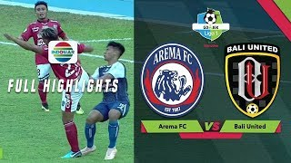 Video Arema FC (3) vs (1) Bali United - Full Highlights | Go-Jek Liga 1 bersama Bukalapak MP3, 3GP, MP4, WEBM, AVI, FLV Oktober 2018