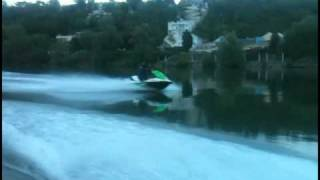 8. jet ski Kawasaki STX-15F prepared top speed