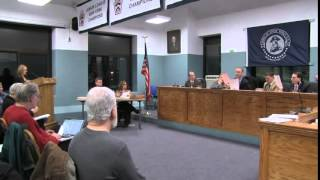 Town Board Meeting - January 13, 2015 Part B