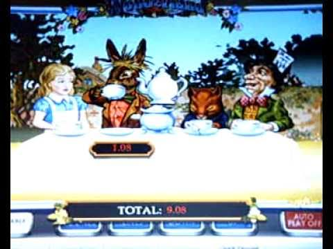 Alice in Wonderland Slot Mad Hatter's Tea Bonus