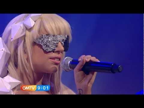 Lady Gaga – Just Dance Live @ (GMTV)