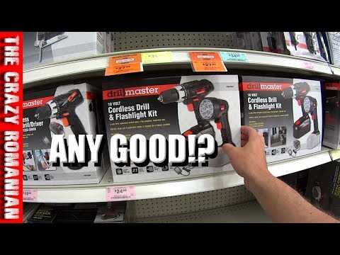 Harbor freight TOOLS - Are their Drills any GOOD!? Chicago Electric Drillmaster