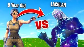 So a 9 Year Old Challenged me to a 1v1 In Fortnite...
