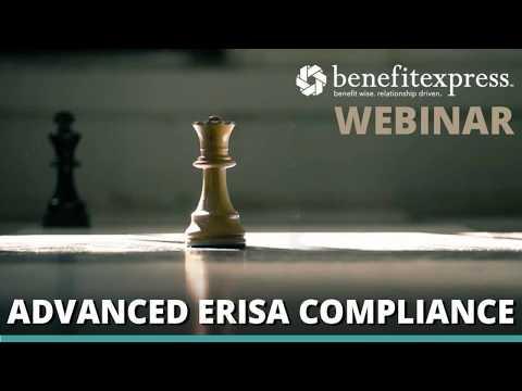 Webinar | Training the Technique:  Advanced ERISA Compliance