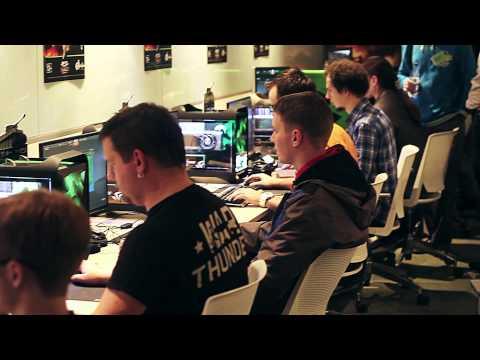 INVASION Labs: танки в War Thunder, презентация в офисе NVIDIA.