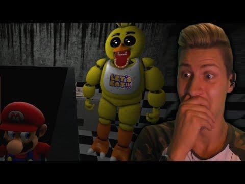 THESE BRUTAL DEATH SCENES ARE AMAZING!    Mario in Animatronic Horror - Part 3 (Super Mario Horror)