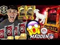 FIRST EVER TOP 100 MADDEN 18 WEEKEND LEAGUE MONTHLY REWARDS! FULL LEGEND PULL!