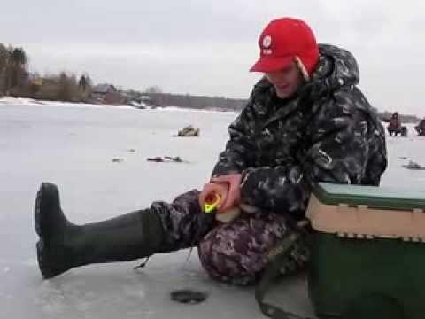 видео ловля щуки на рыбинке